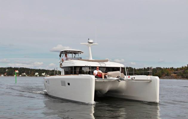 Lagoon 40 Motor Yacht: SUURPERHEEN UNELMA