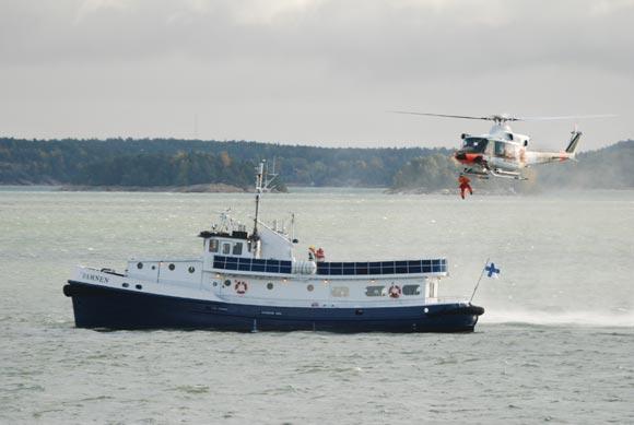 Meripelastusharjoitus2009