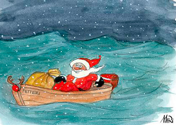 Venenetin toimitus toivottaa kaikille lukijoilleen hyvää joulua!