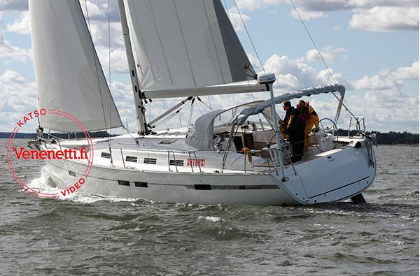 Bavaria Cruiser 45:ssä on valtavasti tilaa ja mainiot purjehdusominaisuudet