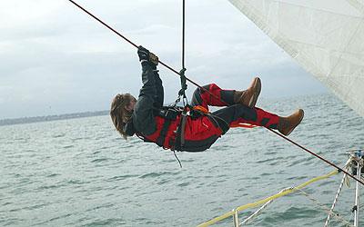 Clipper Race 3.-10. elokuuta 2009, harjoitusviikko