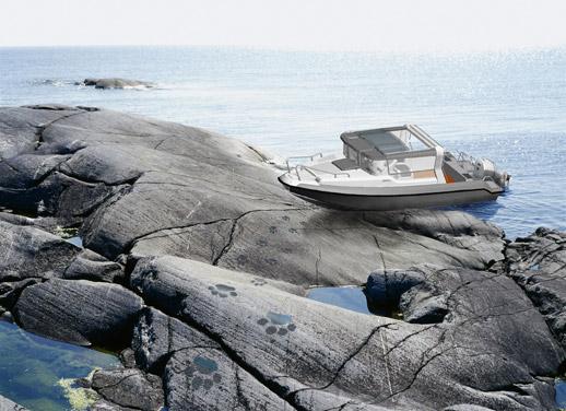 Busterilta ensimmäinen kajuuttavene