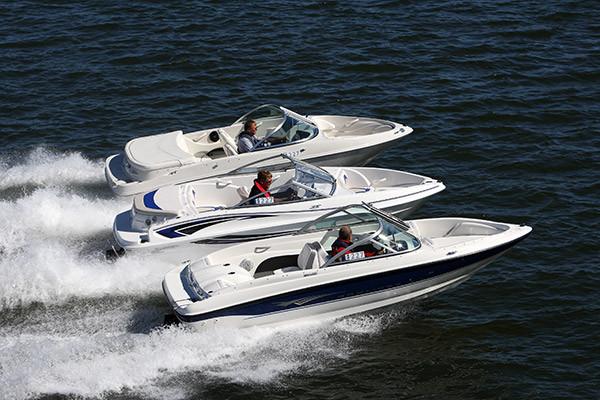 Pikkujenkit Bayliner 175 GT,  Glastron SSV 175 Bowrider ja Sea Ray 175 Sport