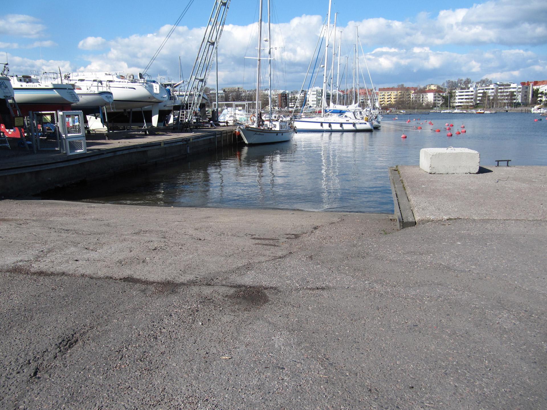Pysäköinti Lauttasaari