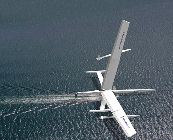 V-44 Albatross kiitää nopeammin kuin tuuli