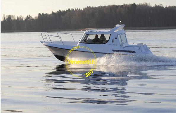 Seiskarilta uusi yhteys- ja kalavene 242-TR