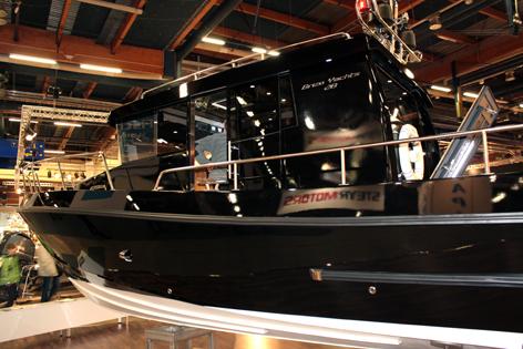 Brizo Yachts 28 muokkautuu toiveiden mukaiseksi