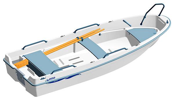 Monikäyttöinen mökkivene Terhi 400