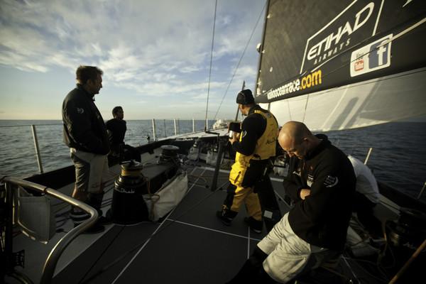Nick Dana/Abu Dhabi Ocean Racing