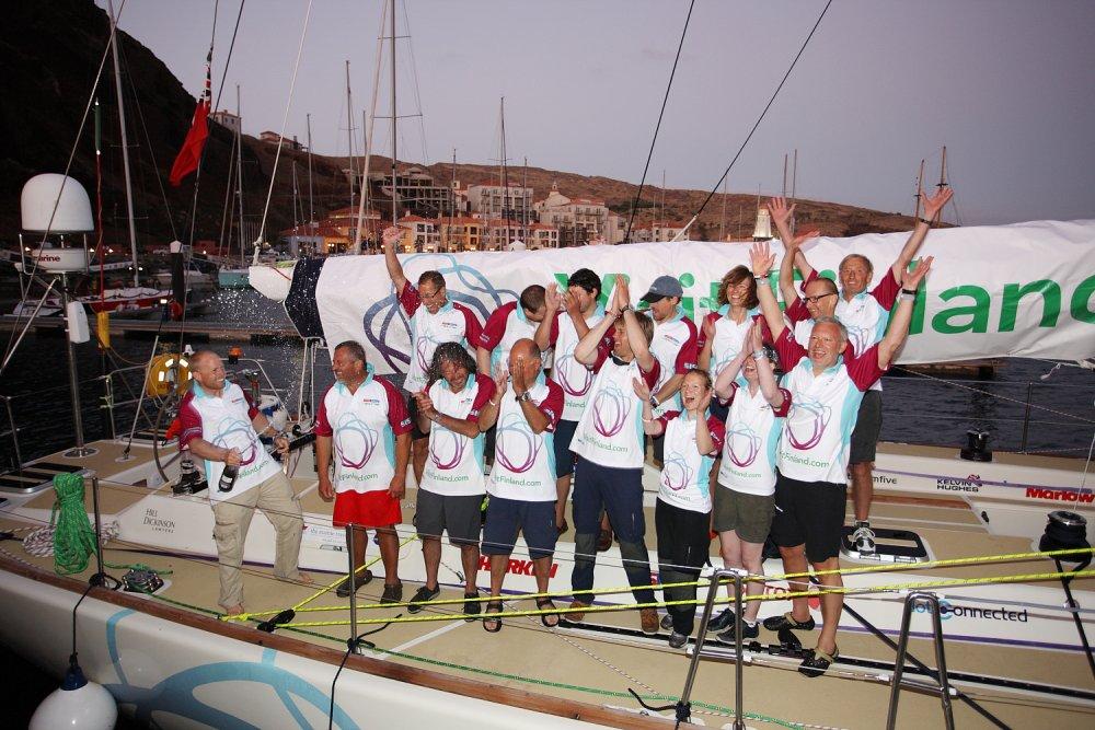 Clipper Race 2011 Team Finland