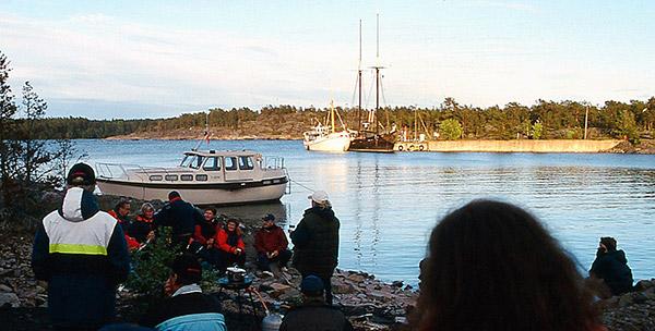 Kiinnostus Katanpään linnakesaarta kohtaan on pysynyt vakaana ja liikennöinti jatkuu tulevana kesänä sinne entiseen tapaan.