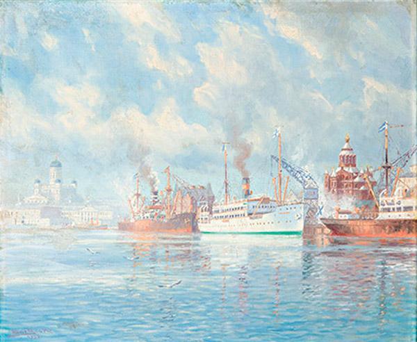 Adolf Bock: Eteläsatama, 1937