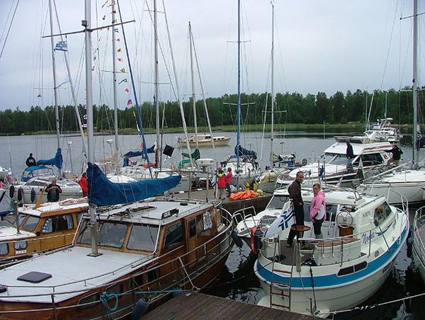 Ulko-Nuokon veneilytapahtuma 2010
