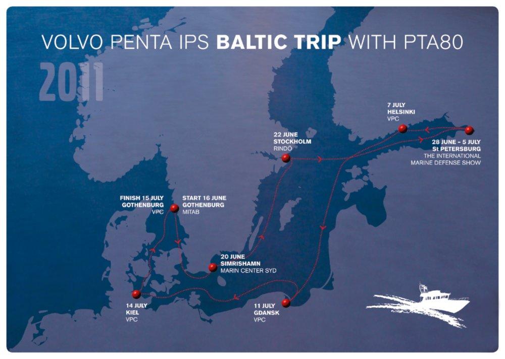 Volvo Penta IPS Baltic Trip