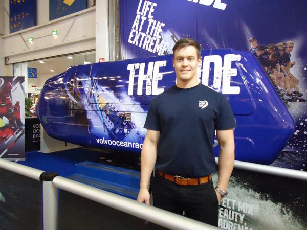 Volvo Ocean Racen edustaja Eric uskoo simulaattorin suosioon