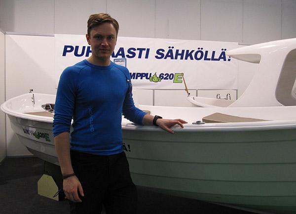 Anton Kalland ja Simppu-vene